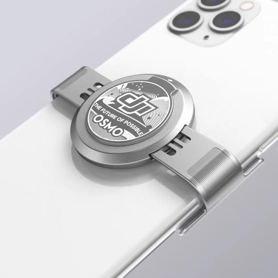 DJI OM 4 | 磁気スマートフォンクランプ