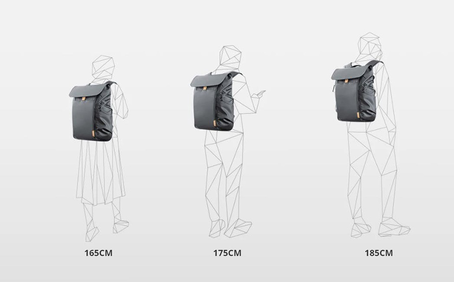 PGYTECH OneGo BackPack(ワンゴー バックパック) |  着用イメージ