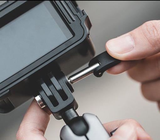 PGYTECH (ピージーワイテック) | アクションカメラ 用 3アーム吸盤式サクションカップ  | カンタン取り付け、取り外し