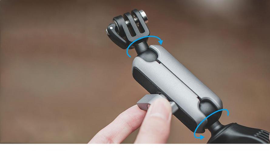 PGYTECH (ピージーワイテック) | アクションカメラ用 ハンドルマウント  | FOLDABLE DESIGN MAKES IT COMPACT AND PORTABLE