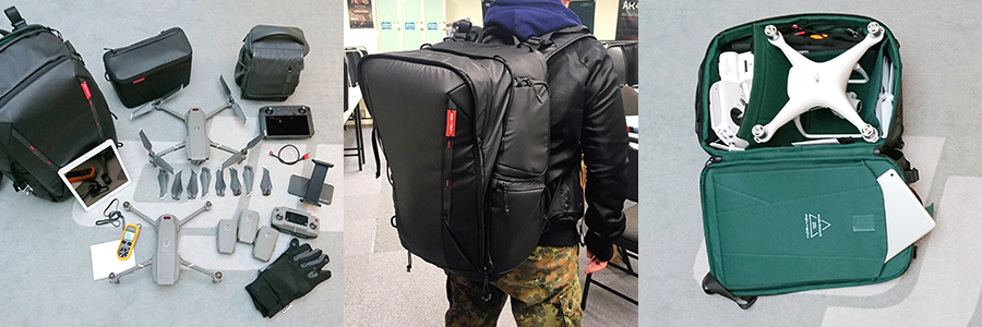PGYTECH OneMo BackPack (ワンモーバックパック) | 収納例