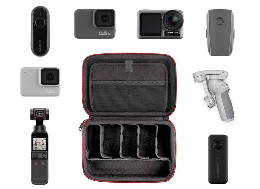 PGYTECH Action Camera用トラベルセット |  カスタマイズおよび整理されたストレージ