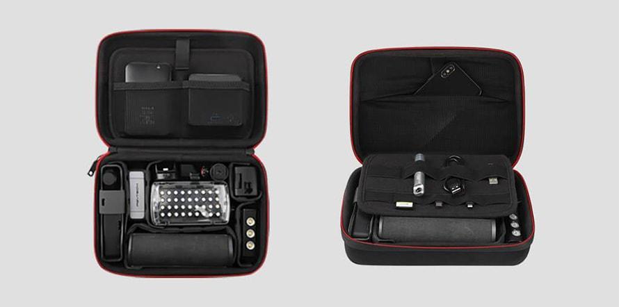 PGYTECH Action Camera用トラベルセット |  必要に応じて収納スペースをカスタマイズ