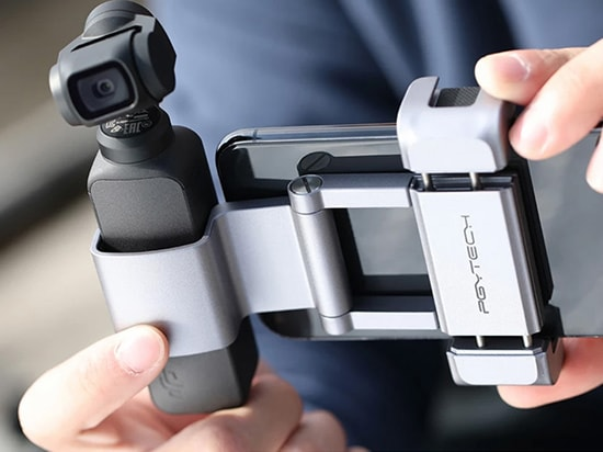 PGYTECH POCKET 2用 動画撮影セット | お使いの携帯電話とOSMOポケットをしっかりと立てます