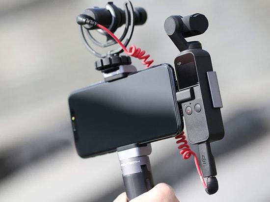 PGYTECH POCKET 2用 動画撮影セット | プロとして撮影し、           オプションを開いたままにする