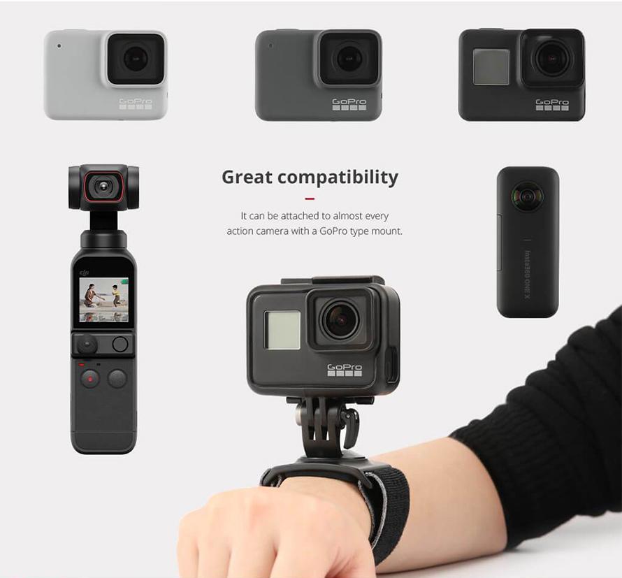 PGYTECH Action Camera用トラベルセット |  PGYTECH アクションカメラ用 ハンド ストラップ