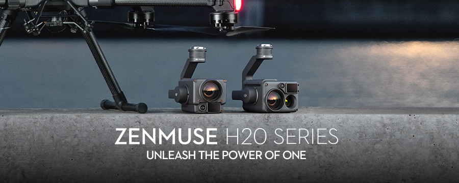 Zenmuse H20シリーズ | UNLEASH THE POWER OF ONE