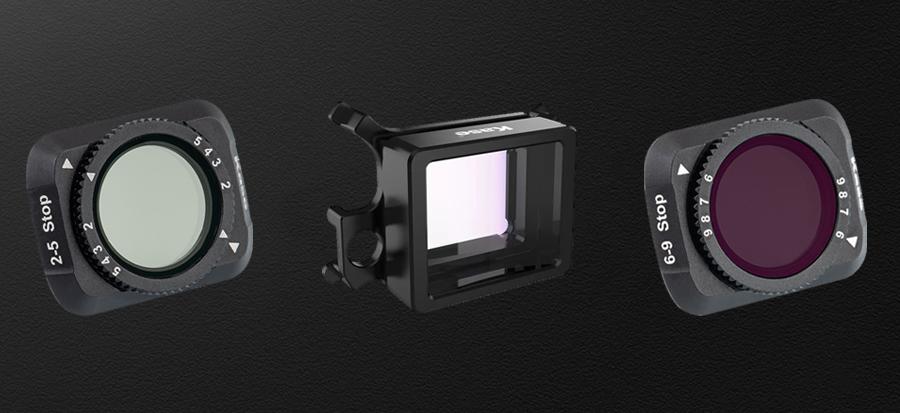 Kase MAVIC AIR 2用 レンズフィルター | マルチレイヤーコーティング方式を採用。両面多層構造により防水・耐油に優れメンテナンスも楽々。