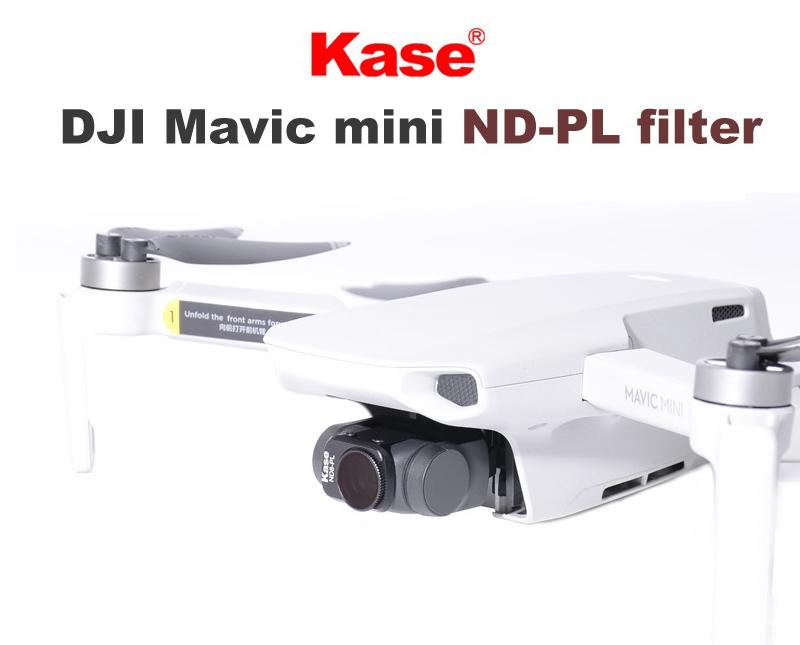 Kase MAVIC MINI用 レンズフィルター 4 in 1セット | Kaseは、ドイツ・イギリス・スウェーデンなどグローバルで展開するカメラフィルターの新興ブランドです。
