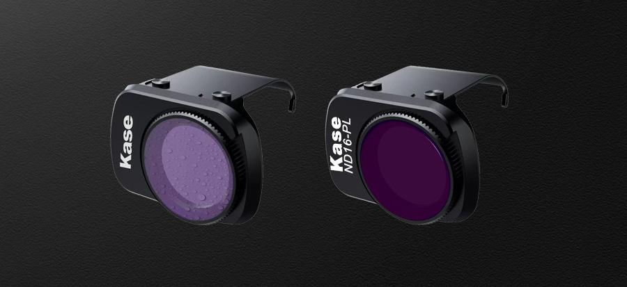 Kase MAVIC MINI用 レンズフィルター 4 in 1セット | SCHOTT社 B270 ガラスを採用。両面多層構造により防水・耐油に優れメンテナンスも楽々。