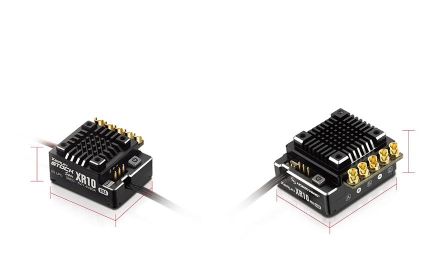 HOBBYWING XeRUN XR10 PRO STOCK SPEC V4 | 小型&軽量化を実現