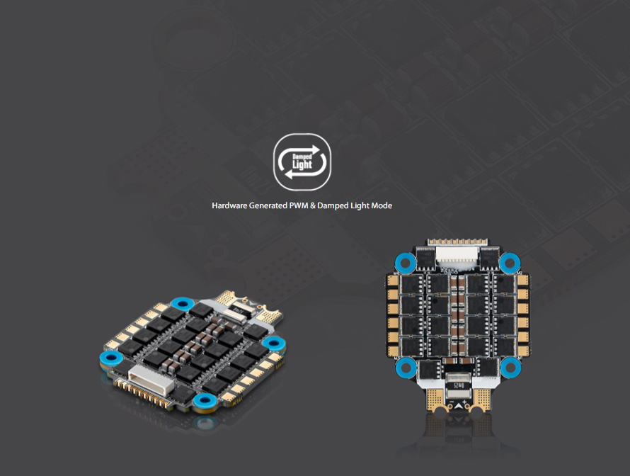Hardware Generated PWM & Damped Light Mode