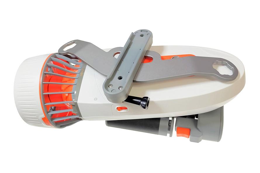 SUBLUE | WhiteShark Tini(ホワイトシャーク タイニー)|分解、持ち運び、保管が簡単にできるよう設計されたデザインです