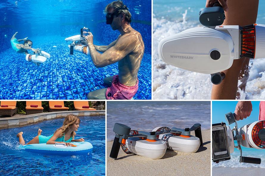 SUBLUE WhiteShark MixPro 水中スクーター | ニーズに合わせた簡単カスタマイズ