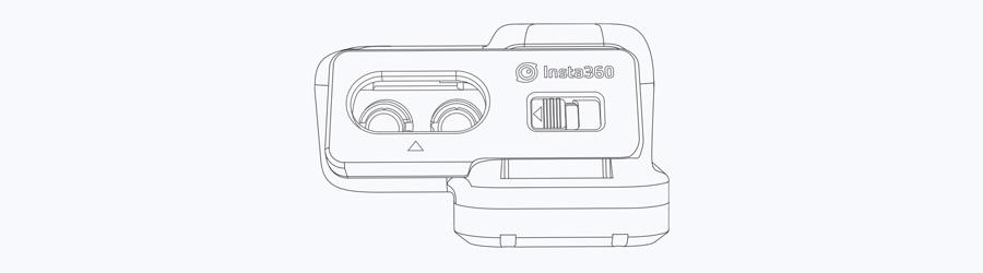 Insta360 ONE R | 4. ケースを閉じる