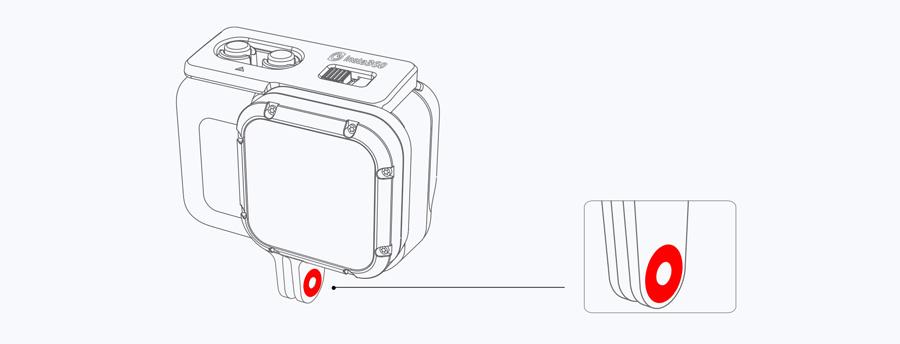 Insta360 ONE R | 5. 安定パッドの取り付け