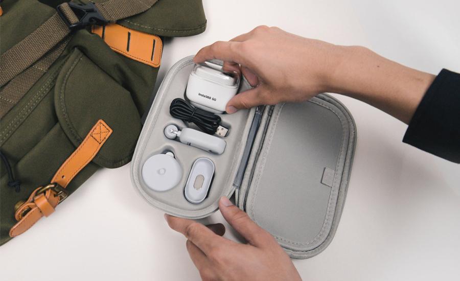 Insta360 GO 収納ケース | 軽量で持ち運びに便利