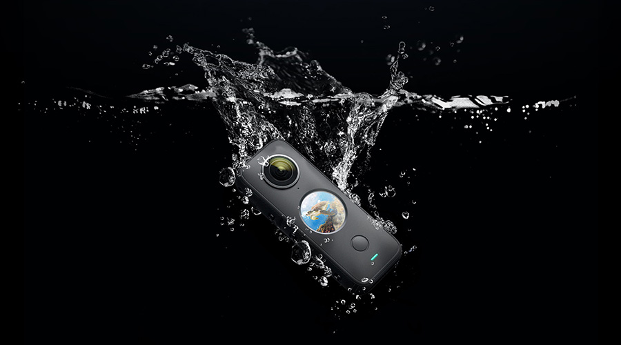 Insta360 ONE X2 | 水中撮影可能な360度カメラ