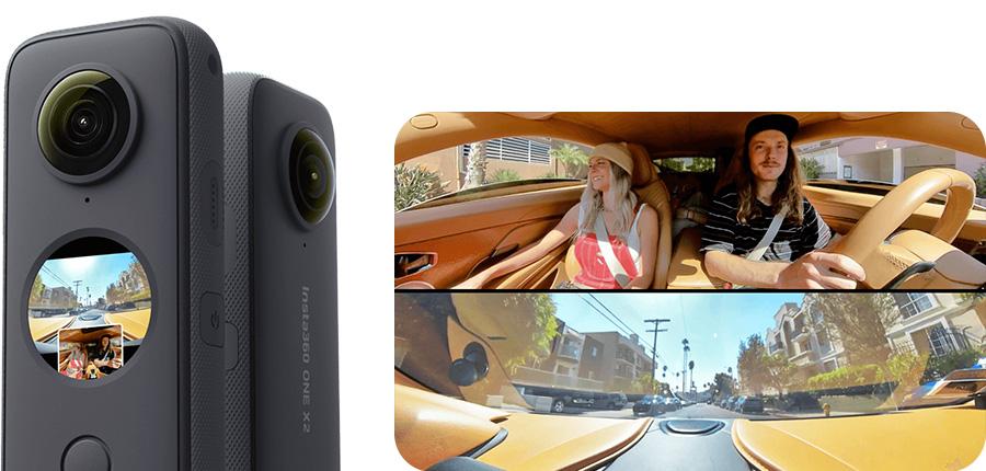Insta360 ONE X2 | 2つのカメラを1つに