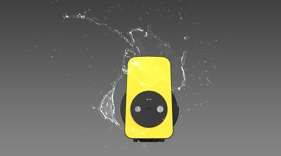 CHASING M2専用 電動リール | IP65 防水性能