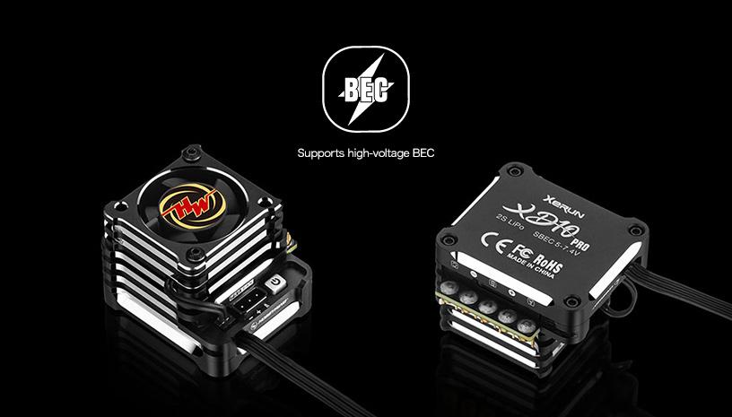 ハイボルテージBEC標準装備