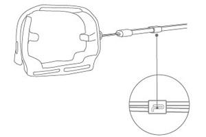 PGYTECH MAVIC MINI用 プロペラホルダー | 使用方法 | 6. 使い方に応じてアジャスターの長さを調整してください。