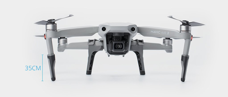 PGYTECH MAVIC AIR 2用 拡張ランディングギア | Protects the aircraft and lens