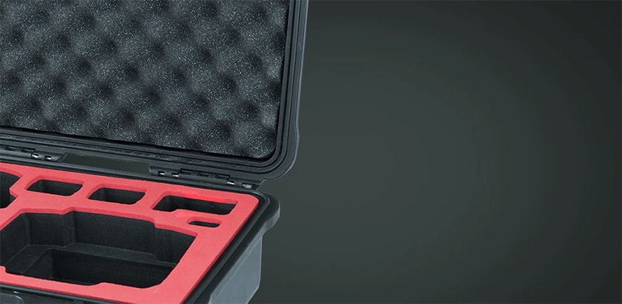 PGYTECH MAVIC AIR2用 ハードキャリングケース | 耐久性のあるEVAスポンジの内装