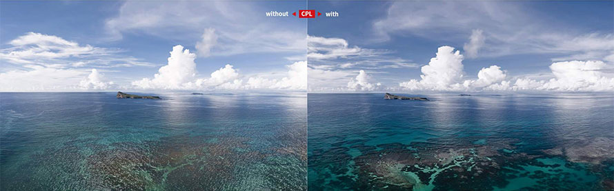 PGYTECH DJI POCKET 2用 レンズフィルター Professional  | CPLフィルター