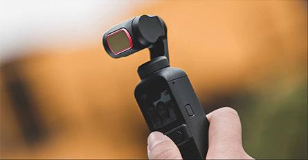 PGYTECH DJI POCKET 2用 レンズフィルター Professional   | German SCHOTT optical glass for high-definition images