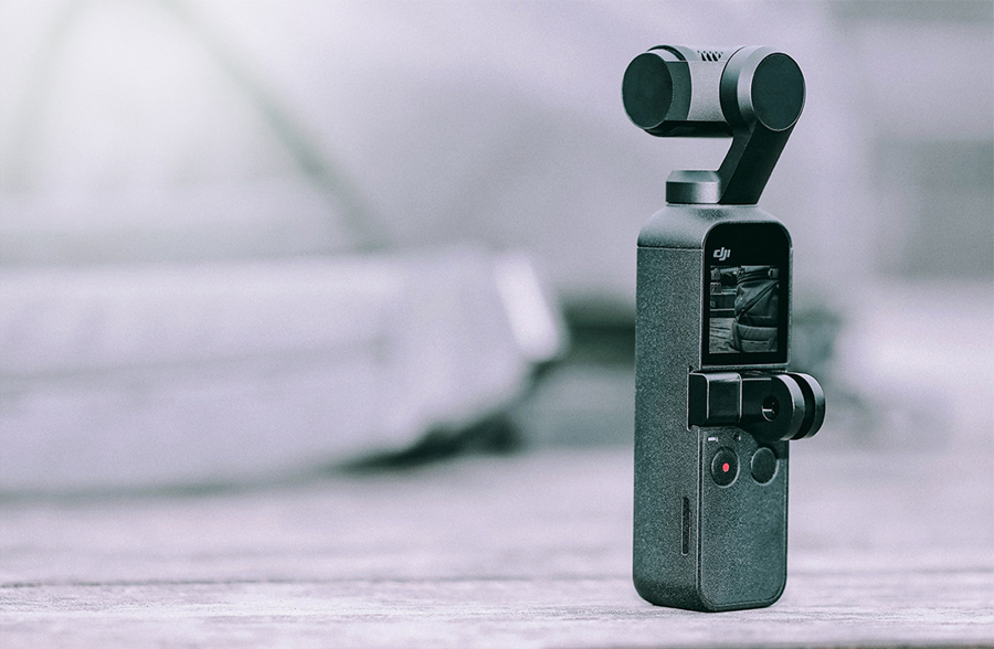 PGYTECH POCKET 2用 動画撮影セット | OSMO Pocket用 ユニバーサルポートマウント
