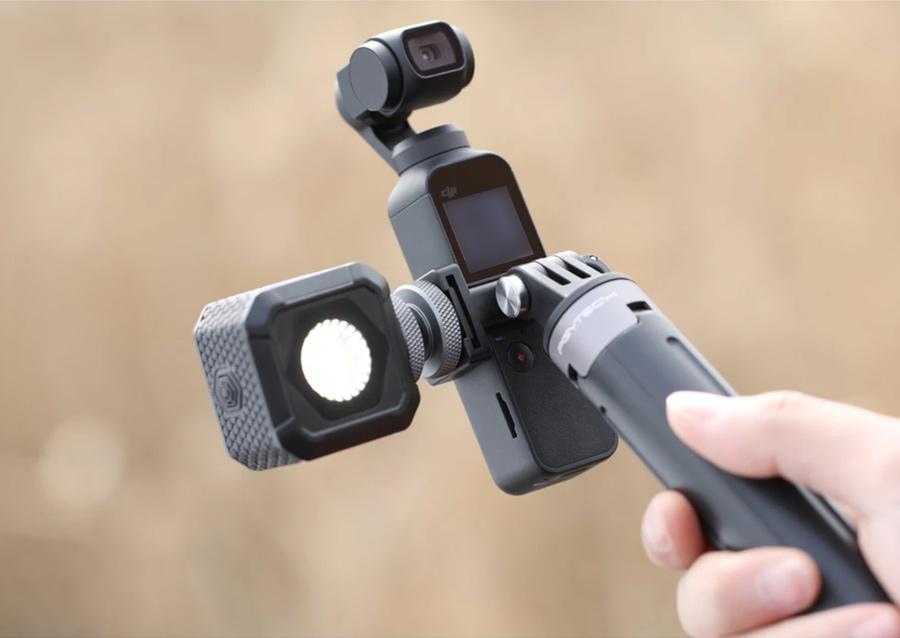 PGYTECH POCKET 2用 動画撮影セット | コールドシュー付ユニバーサルポートマウント