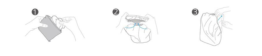 PGYTECH | バックパック レインカバー 25L  |  User Guide