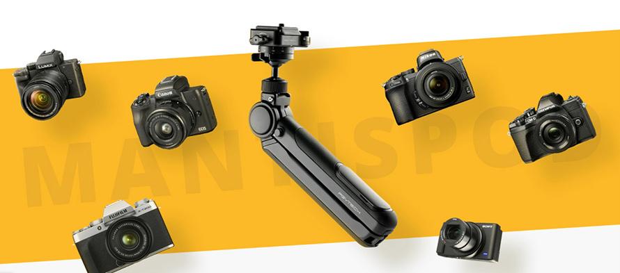 PGYTECH(ピージーワイテック)   MANTISPOD 多機能ミニ三脚    様々なカメラに対応