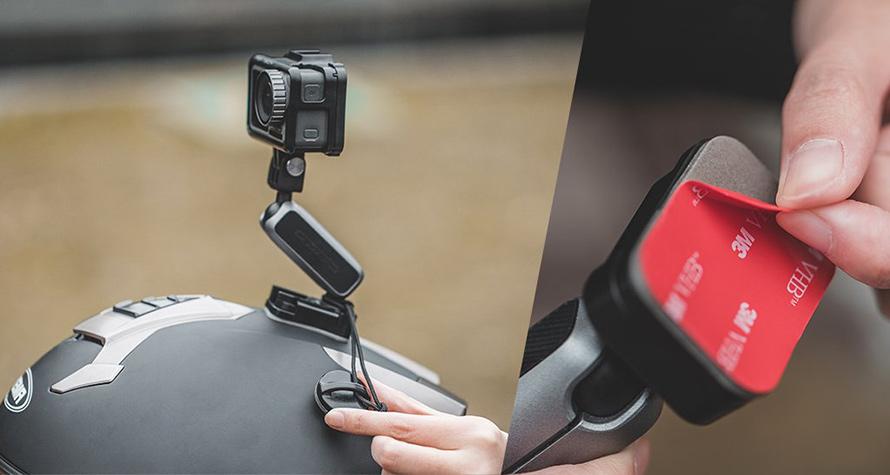 PGYTECH (ピージーワイテック) |  アクションカメラ用 粘着マウント  |  落下防止対策