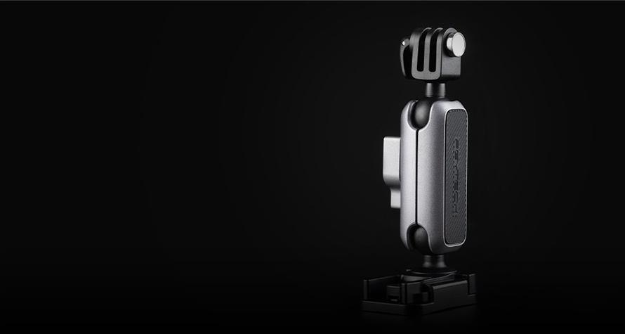 PGYTECH (ピージーワイテック) |  アクションカメラ用 粘着マウント  | 丈夫なアルミニウム合金