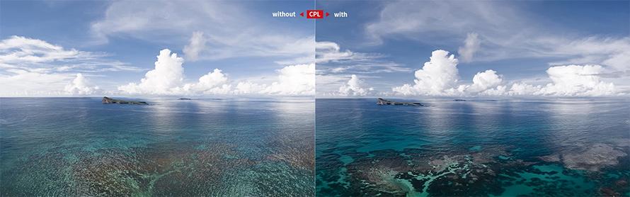 PGYTECH DJI Air 2S用 レンズフィルター Professional  | CPLフィルター