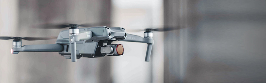 PGYTECH DJI Air 2S用 レンズフィルター Professional  |Extremely light, yet robust without influencing drone performance