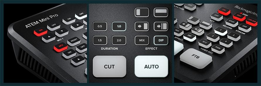 Blackmagic ATEM Mini スイッチャー | 自己完結型の放送品質スイッチャー