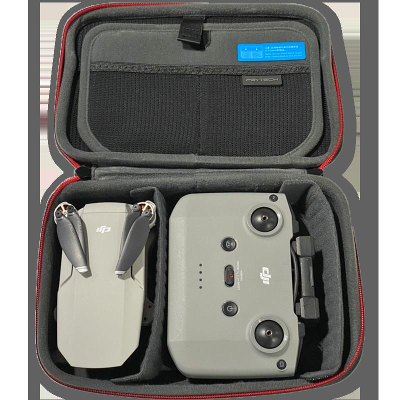 PGYTECH MAVIC MINI用 キャリングケース   DJI Mini 2でご利用の場合には送信機のサイズ分、収納量が少なくなりますのでご注意ください。